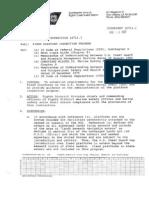 Coast Guard Fixed Platform Inspection Directive