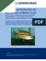 Análisis de las comunidades de peces dulceacuicolas,PN Pico Bonito,JB Lancetilla y PN Jeanette Kawas