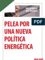 Pelea por UNA NUEVA POLÍTICA ENERGÉTICA
