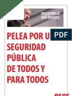 Pelea por UNA SEGURIDAD PÚBLICA DE TODOS Y PARA TODOS[1]