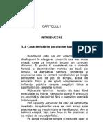 Modelul Somatic, Tehnico - Tactic Al Jucatorului Specializat Pe Postul de Inter Dreapta