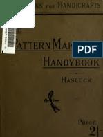 THE PATTERN MAKERS HANDYBOOK – PAUL HASLUCK