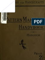 THE PATTERN MAKERS HANDYBOOK – PAUL HASLUCK