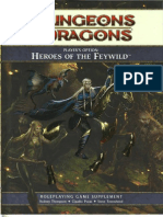 Player's Option - Heroes of the Feywild