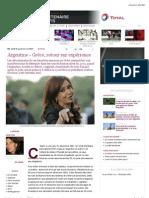 Argentine - Grèce, retour sur expérience | Slate