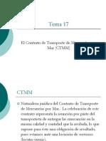 Legislación Marítima- 17 Contrato de Transporte de Mercancías por Mar.Curso UNI 15