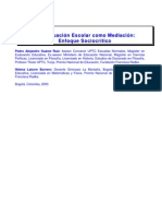 Evaluación Como Mediacion PEDRO a SUAREZ