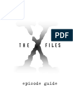 X-Files Episode Guide Complete) | Nature