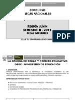 CONCURSO BECAS NACIONALES 2012