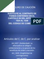 EL SEGURO DE CAUCIÓN (1)
