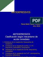 ANTIDEPRESIVOS TRICICLICOS, clase 3