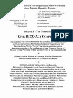 Volume 1 Civil RICO Act Complaint