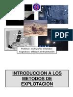 METODOS DE EXPLOTACION