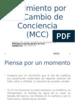 MCC1 - Presentación 3.5 - 16Nov11