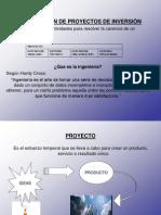 Presentacion de Gestion de Proyectos