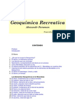 Geoquimica Recreativa-Alexandr Fersman