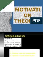 Motivation Theories Sem1
