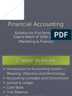 Financial Accounting Sem1