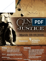 Gender and Justice Conference