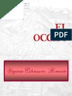 Estenssoro Romecín, María Virginia, El Occiso, Editorial boliviana, Ed