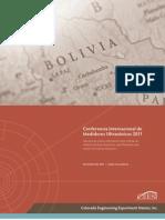 Brochure de La Confer en CIA USM YPFB-CEESI
