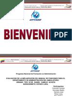 Presentacion proyecto ambulatorio