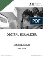 De Training Manual for New Schools