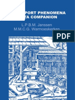 Transport Phenomena Data Companion