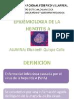 Epidemiologia de La Hepatitis a Expo