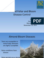 Control of various Almond Bloom, Spring, and Summer Foliar Diseases