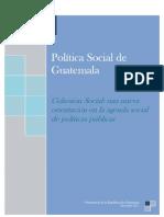 2011 - 11 Política Social de Guatemala
