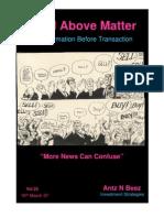 Mind Above Matter Vol 23