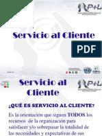 Presentación de Servicio al Cliente