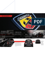 2012 Abarth 500 USA - Brochure