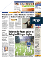 The A2 Journal Front Page