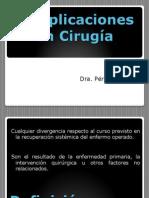 Complicaciones en Cirugia
