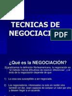 Tecnicas de Negociacion Revisado