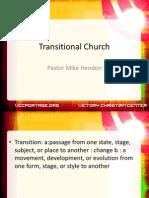 Transitional Church