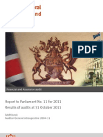 Auditor General of Qld 17 Nov 2011 Report