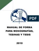 Manual de Forma 2010