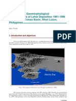 Monitoring of Geomorphological Lahar