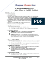 (2) PMP Course Outlines 5 Day