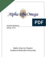 Spring 2011 Plege Manual