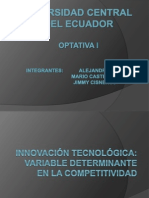 INOVACION TECNOLOGICA