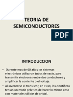 TEORA DE SEMICONDUCTORES