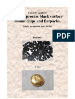 Patnor101's guide to How to process Black surface mount chips and Flatpacks.
