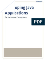 Developing Java Applications ForIntermec