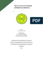 Laporan Tugas Statistik Distribusi Sampling