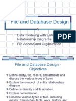 File and DataBase Design
