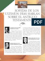 Los Profetas Hablan Del Antiguo Testamento - Fernando Vera